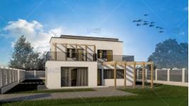 Proiect casa parter + etaj (200 mp) - Onux