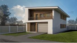 Proiect casa parter + mansarda (200 mp) - Selena