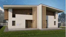 Proiect duplex parter + mansarda (390 mp) - Teea