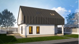 Constructie casa zidarie parter + mansarda (138 mp) - Vendra