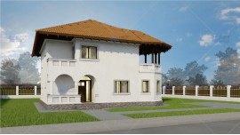 Constructie casa zidarie parter + etaj (144 mp) - Towera