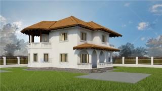 Proiect casa parter + etaj (144 mp) - Towera