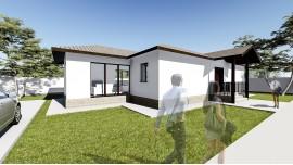 Proiect casa parter (104 mp) - Lumis