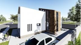 Proiect casa parter + mansarda (146 mp) - Atrium