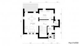 Constructie casa structura metalica parter + mansarda (136 mp) - Tura