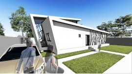 Proiect casa parter + etaj (102 mp) - Tempera