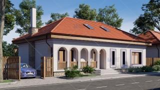 Proiect casa parter traditionala  (127 mp) - Moara Vlasiei
