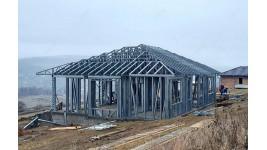 Proiect casa parter (129 mp) - structura metalica - Odorheiu Secuiesc, jud. Harghita