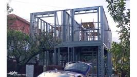Constructie casa cu etaj, structura metalica  (148 mp) - Turda, jud. Cluj