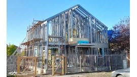 Proiect casa parter + etaj (195mp) - structura metalica Jimbolia, jud.  Timis