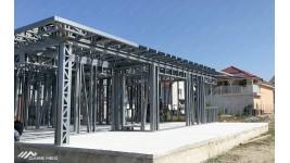 Proiect casa parter (162 mp) - structura metalica Sanmartin, Bihor